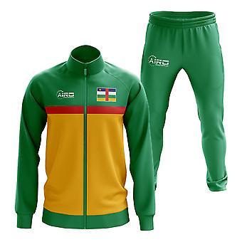 Центральноафриканская Республика Концептуальный футбольный спортивный костюм (зеленый)