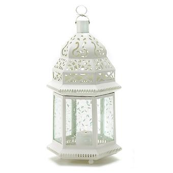 Gallery of Light Vine Patterned Glass Garden Lantern - 15 inches, Pack of 1