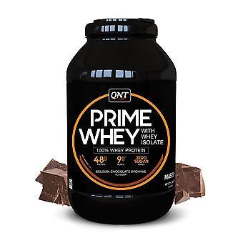 QNT Prime Whey Protein Powder 100% Whey Isolate - 2kg - Belgian Chocolate
