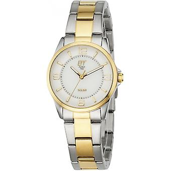 ONE (Eco Tech Time) Gold Stainless Steel ELS-12070-12M Women's Watch