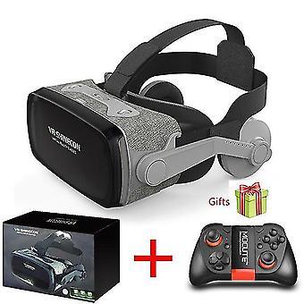 2019 Shinecon Casque 9.0 vr Virtual Reality Brille 3D Brille Google Cardboard VR Headset Box für