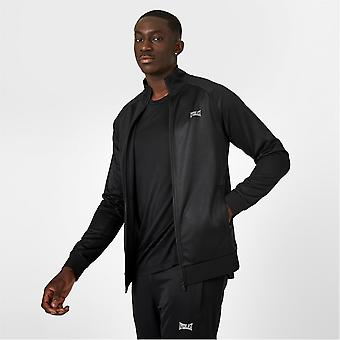 Everlast Mens Essential Track Top Tracksuit Sports Casual High Neck Moisture