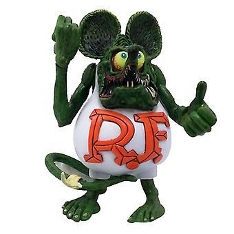 Rat Fink Mouse Figure Pvc Anime Action Figures Collectionnable Cadeau de jeu