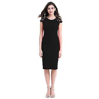Femme Bodycon Short Sleeve Pencil Dress