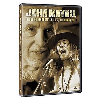 John Mayall - importación de USA de padrino del Blues británico [DVD]
