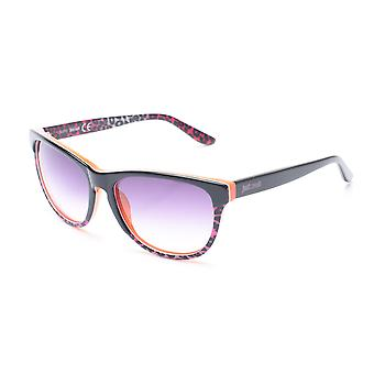 Just Cavalli Women's Cheetah Print Classic Style Sunglasses Black/Orange/Cheetah