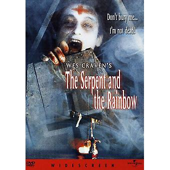 Slangen & regnbuen [DVD] USA importere