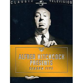 Alfred Hitchcock presenta - Alfred Hitchcock presenta: Temporada 5 [5 discos] importación de Estados Unidos [DVD]