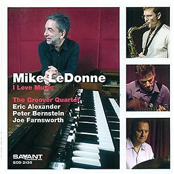 Mike Ledonne - I Love Music [CD] USA importation