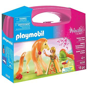 Playmobil 5656 grote Carry Case Fantasy paard