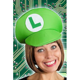 Hoeden spel hoed groen Luigi