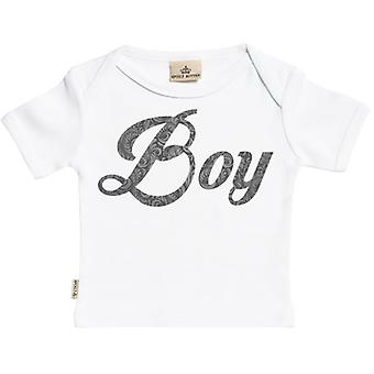 Spoilt Rotten Boy Design Short Sleeve Baby T-Shirt