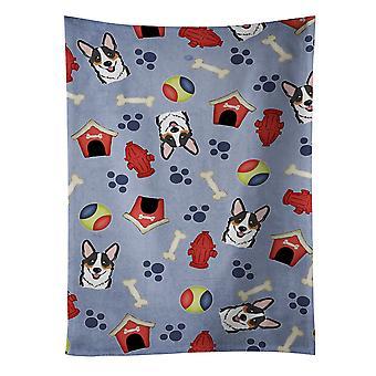 Ręcznik kuchenny Dog House kolekcja Tricolor Corgi