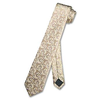 Narrow NeckTie Skinny DESIGN Men's Thin 2.5