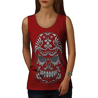 Katana Cool Frauen RedTank Top | Wellcoda