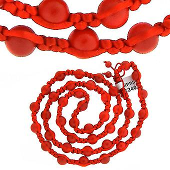 Premium PAVÉ BALL necklace - Red