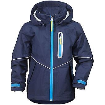Didriksons Pani  Kids Waterproof Jacket - Navy