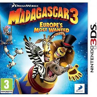 Madagascar 3 (Nintendo 3DS) - New