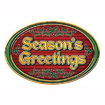 Weihnachts-und Neujahrsgrüße unterzeichnen 12