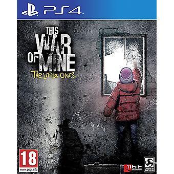 Deze oorlog van mijn de kleintjes PS4 spel