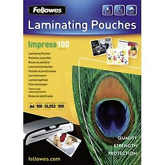 Fellowes Laminate sheet A4 100 micron glossy 100 pc(s)