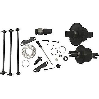 Reely 302001 parte de schimb Generation X 4WD Upgrade Kit