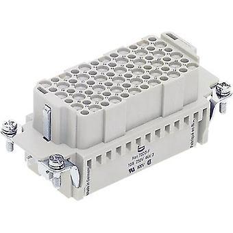 Harting 09 16 072 3101 socket inzet Han® DD 72 + PE Crimp 1 PC (s)