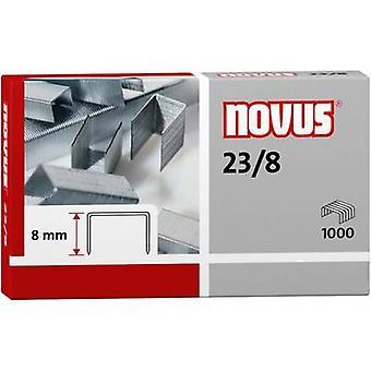 Novus 23/8 042-0040 Staple 1000 pc(s) 1.000 pc's/pack Stapling capaciteit: 50 vellen (80 g/m²)