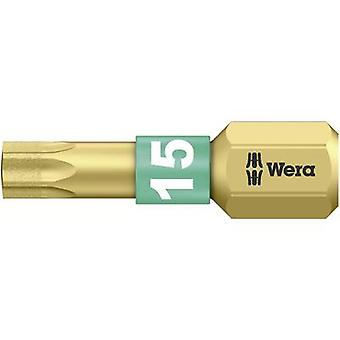 Wera 867/1 BDC TX15X25 05 066102 001 Torx bit T 15 Outil en acier alliage, DLC enduit D 6,3 1 pc(s)