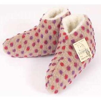Lit chaussures pointes laine beige 42/43