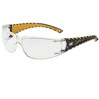 كاتربيلر رجالي الحريق عمل نظارات سلامة النظارات البيضاء