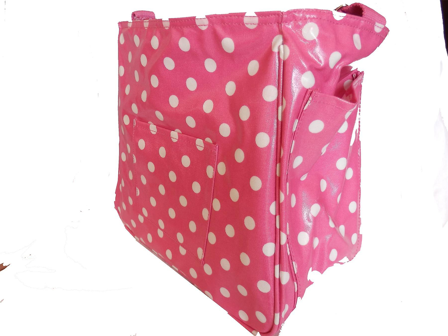 The Old Bag Company Emma Baby Bag by Sally Hurst PINK