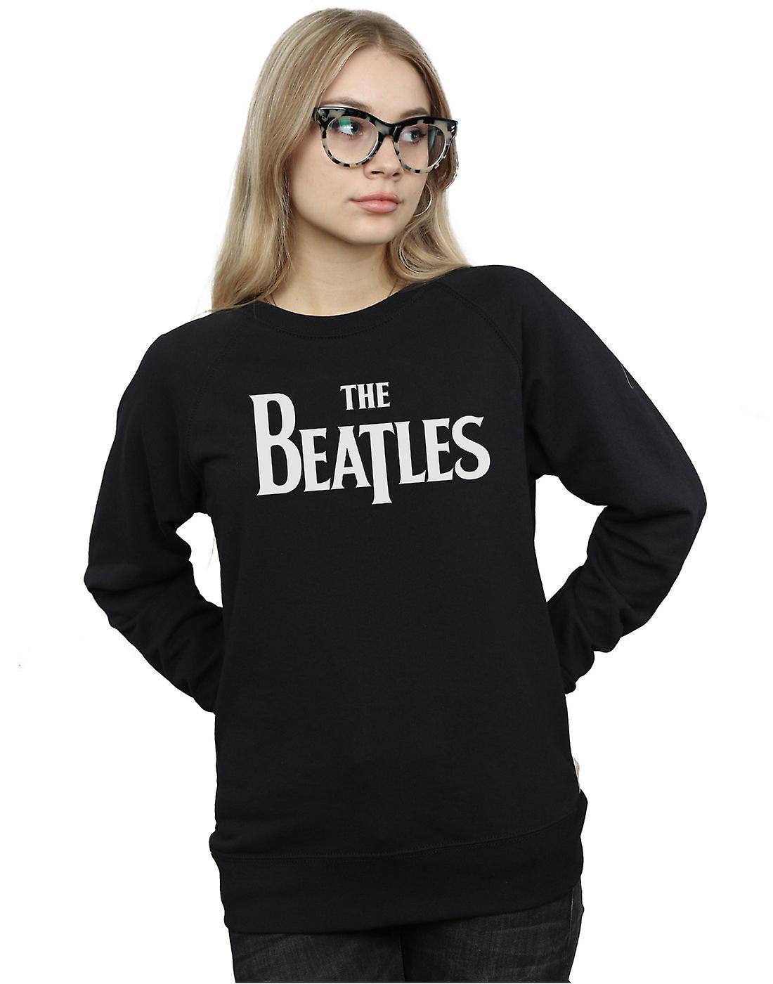 The Beatles Women's Drop T Logo Sweatshirt