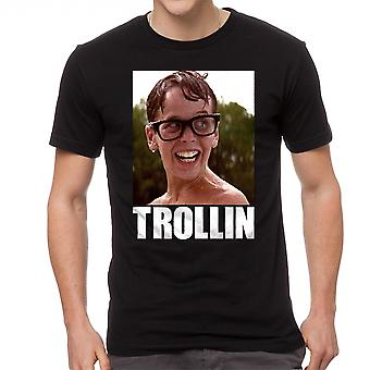 The Sandlot Trollin Squints Graphic Men's Black T-shirt