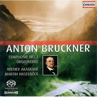 A. Bruckner - Bruckner: Symphonie No. 1; Orgelwerke [CD] USA import