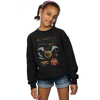哈利波特女孩所有我想要的圣诞汗衫