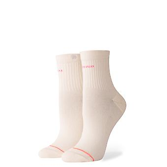 Stance Complex Ankle Socken in Off White