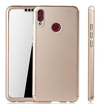 Huawei Honor 8X Hülle Case Handy Cover Schutz Tasche 360 Fullcover Panzerfolie
