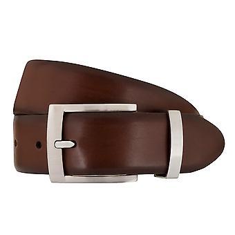 SAKLANI & FRIESE belts men's belts leather belt Brown 1199