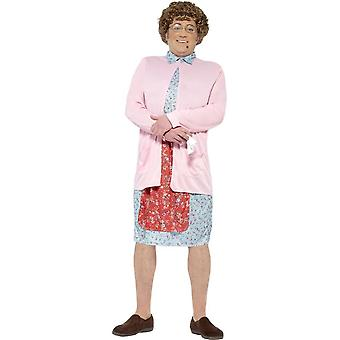 Mrs Brown Padded Costume, Large