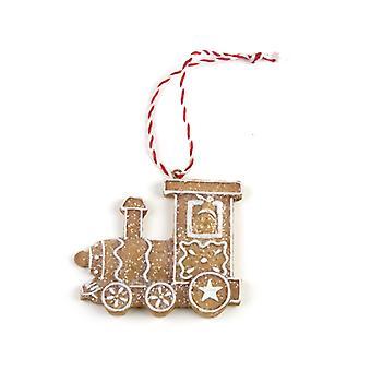 Heaven Sends Gingerbread Train Decoration