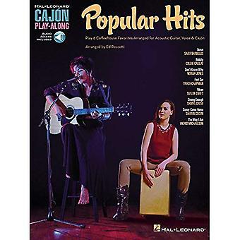 Populära Hits: Cajon Play-Along (Hal Leonard Cajon Play-Along)