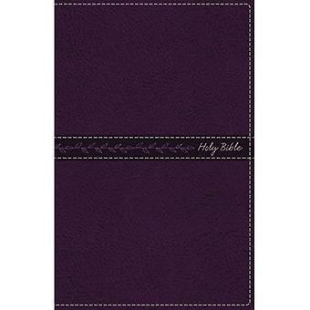 LSG, Thinline Bible, Standard Print, édition de lettre Imitation de cuir, violet, rouge