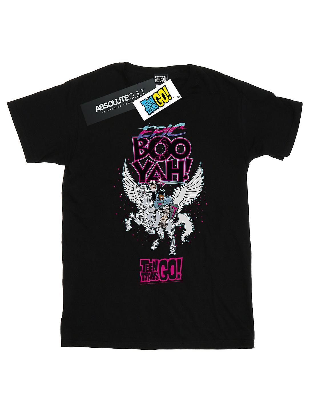 DC Comics Girls Teen Titans Go Epic Boo Yah T-Shirt