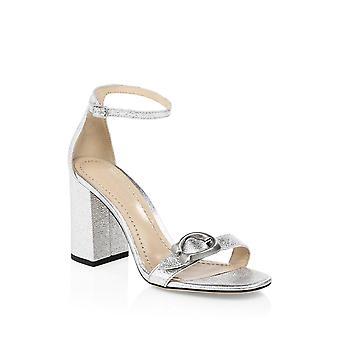 Coach Womens Maya 85 Sig Bkle Leather Open Toe Special Occasion Ankle Strap Sandals
