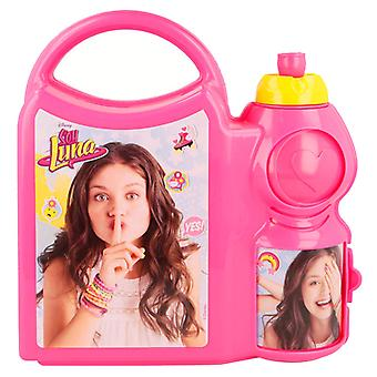 Soy Luna YES! 2i1 Lunchbox and water bottle with handle
