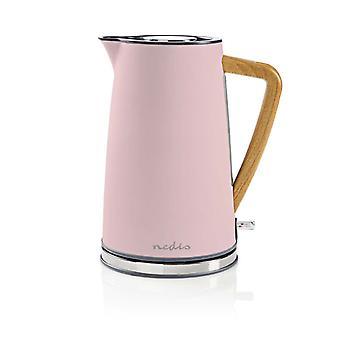 Nedis KAWK510EPK kedel 1, 7L 2200W soft-touch pink
