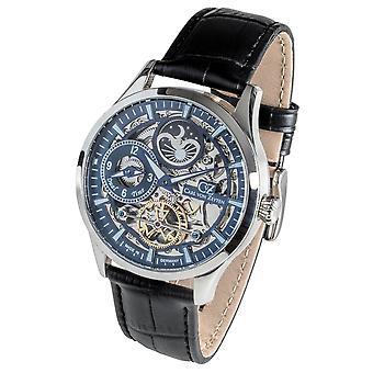 Carl of Zeyten men's watch wristwatch automatic Freiburg CVZ0063BL