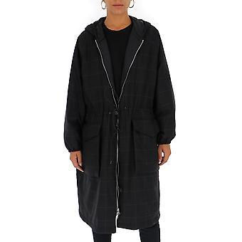 Barena Venezia Csd19060318560 Women's Grey Nylon Coat