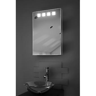 Nova LED iluminado gabinete con Sensor, máquina de afeitar y Audio k254aud